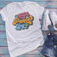 Love, Peace, Joy Women's Tees & Tank Tops