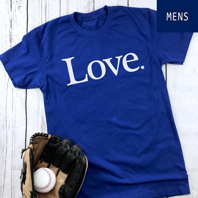 Love. • Unisex T-shirts T-shirt teelaunch District Unisex Shirt Royal Blue S