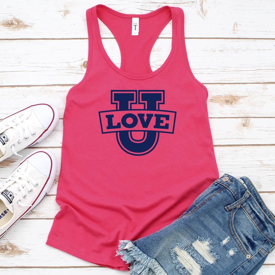 Love U • Women's Tank Top T-shirt teelaunch