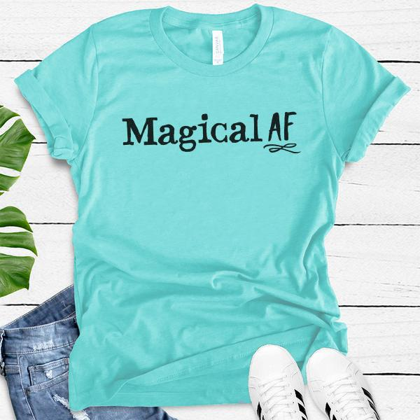 Magical AF • Women's Tees T-shirt teelaunch DriFit Tee Tahiti Blue S