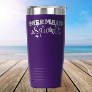 Mermaid Squad 20oz Insulated Tumbler