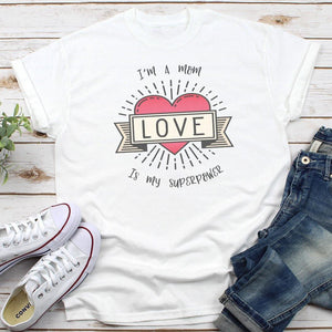 Love Is My Superpower Women's Tees & Tank Tops