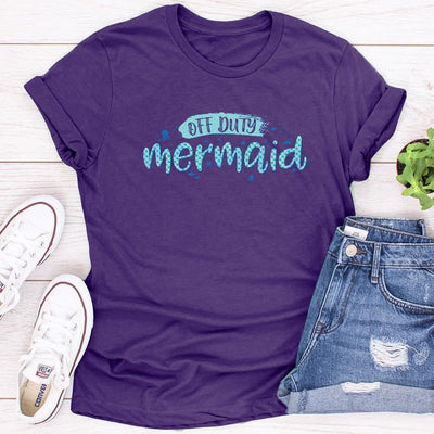 Off Duty Mermaid • Women's Tees, mermaid lovers