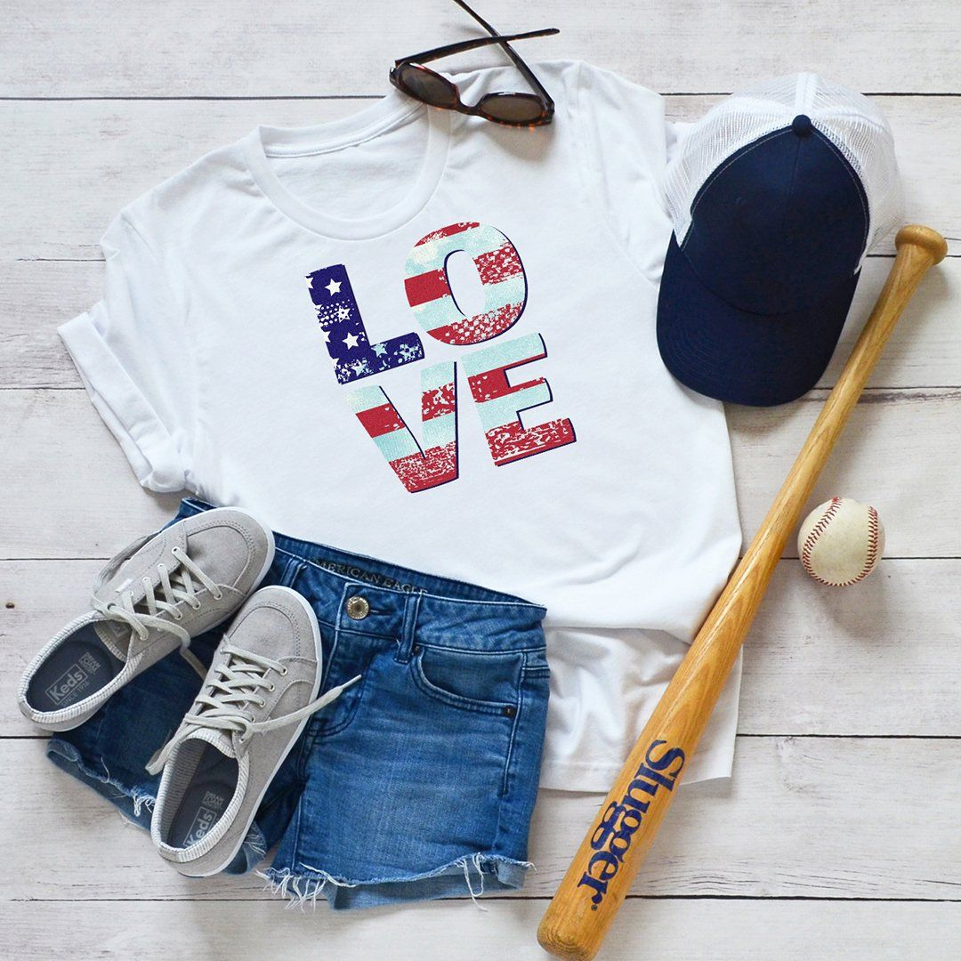 Patriotic Love • Women's T-shirt