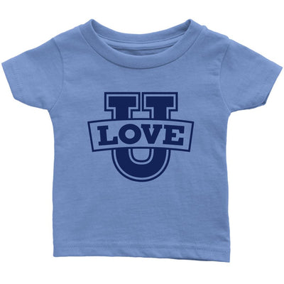 Love U • Babies & Kids Tees T-shirt teelaunch Infant Tee Baby Blue 6M