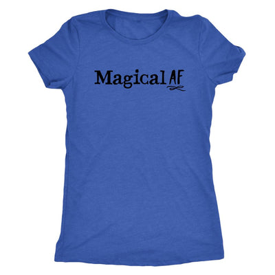 Magical AF • Women's Tees T-shirt teelaunch DriFit Tee Vintage Royal S