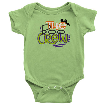 The Boo Crew • Kids & Babies Tops T-shirt teelaunch Onsie Keylime NB