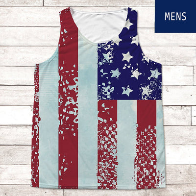 Stars & Stripes Tank Top • Men's Tank Top