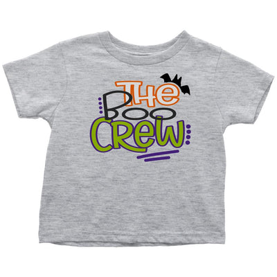 The Boo Crew • Kids & Babies Tops T-shirt teelaunch Toddler Tee Heather Grey 2T