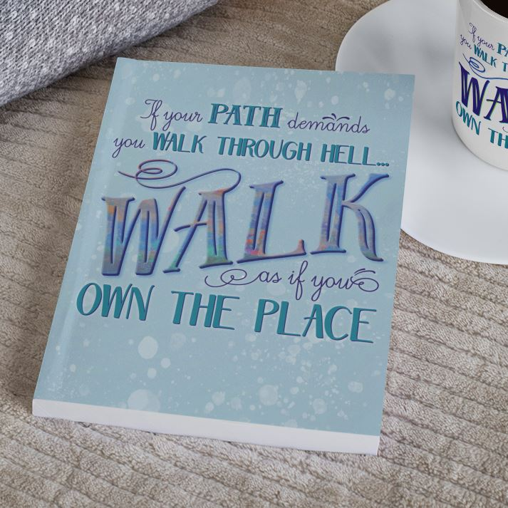 Walk Through Hell • Hardcover Journal Journals teelaunch Small (5.75 x 8)