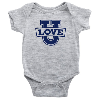 Love U • Babies & Kids Tees T-shirt teelaunch Onsie Heather Grey NB