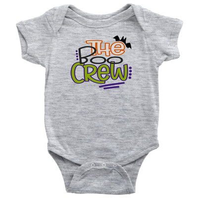 The Boo Crew • Kids & Babies Tops T-shirt teelaunch Onsie Heather Grey NB