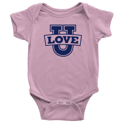 Love U • Babies & Kids Tees T-shirt teelaunch Onsie Pink NB