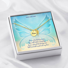 Condolence Angel Wing Necklace for Loss of Mother Gift Jewelry ShineOn Fulfillment 18k Yellow Gold Finish