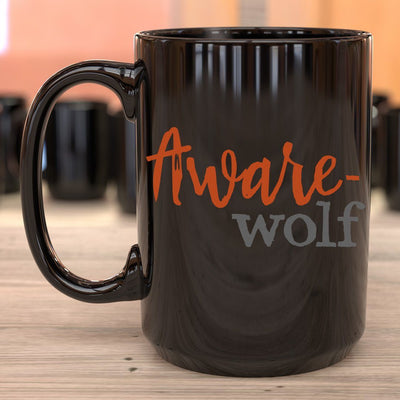 Magical AF • 15oz. Halloween Mug Drinkware CustomCat Awarewolf