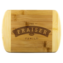 Family Name Cutting Board • Customizable with Family Name Wood Cutting Boards teelaunch Small - 8
