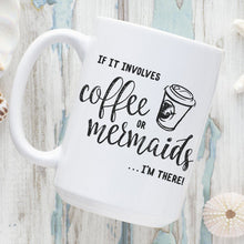 Coffee Or Mermaids 15oz. Ceramic Mug