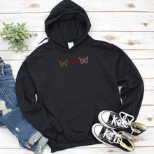 hygge christmas, old norse, butterfly hoodie, plus size sweatshirt