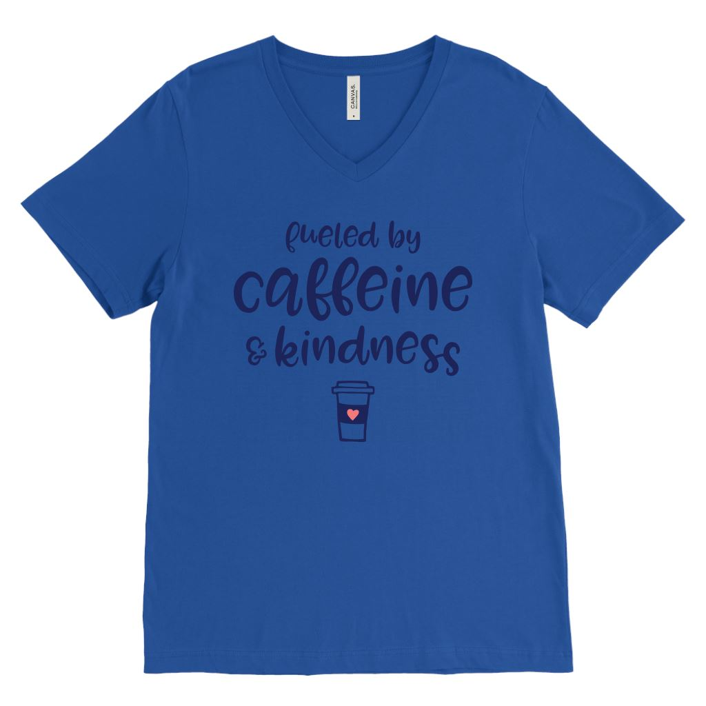Fueled by Caffeine and Kindness Unisex Tees & Tanks