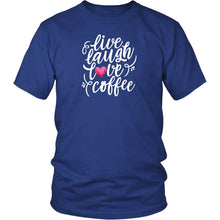 Live, Laugh, Love, Coffee Women's Tees and Tank Tops