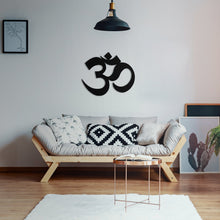Om Sign Metal Wall Art