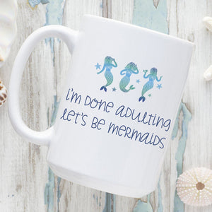 Part Mermaid, Part Unicorn, All Amazing 15oz. Ceramic Mug