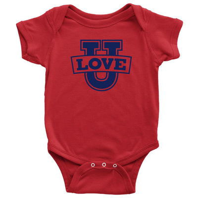 Love U • Babies & Kids Tees T-shirt teelaunch Onsie Red NB