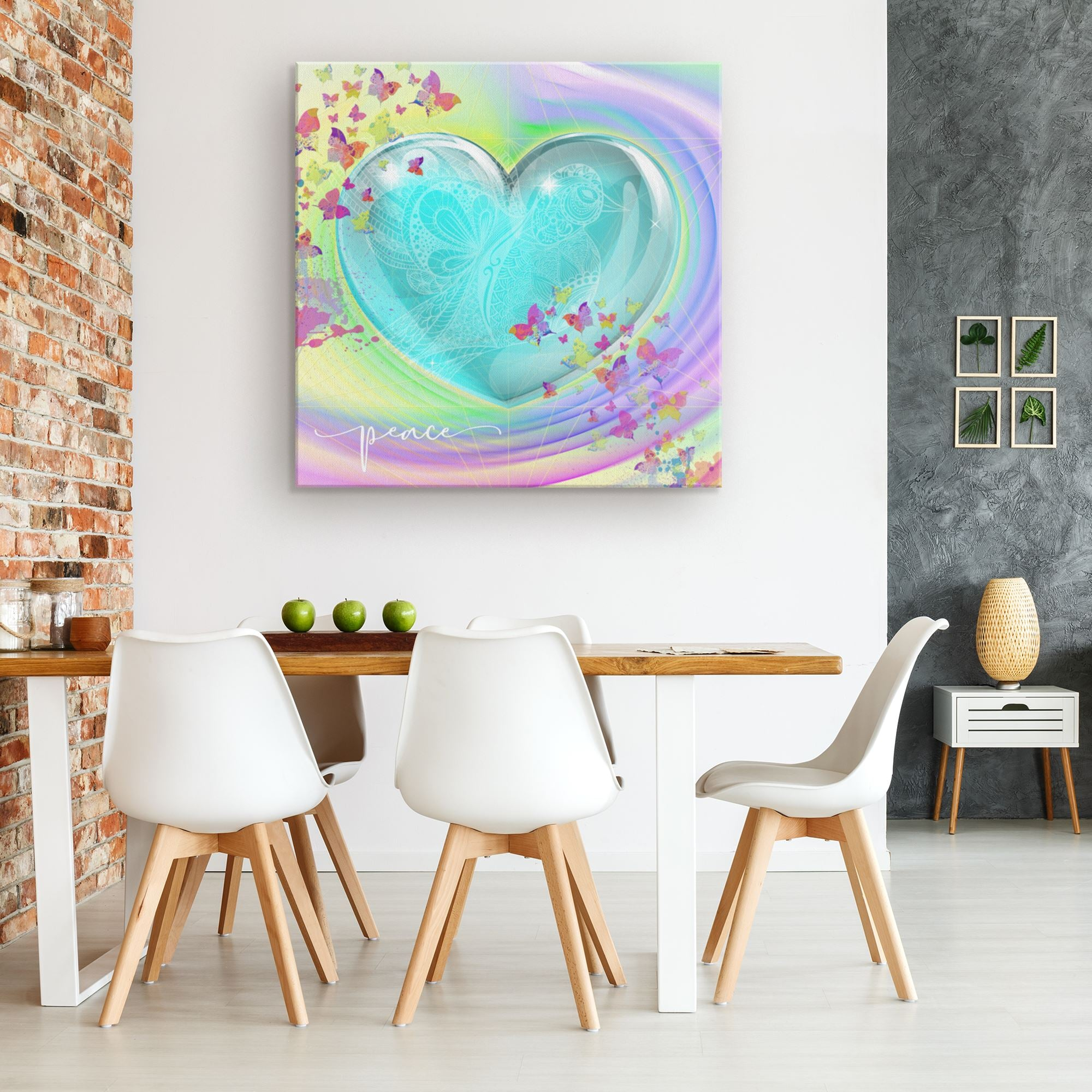 Peace Dove • Canvas Wall Art Canvas Wall Art 3 teelaunch