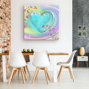 Peace Dove Canvas Wall Art