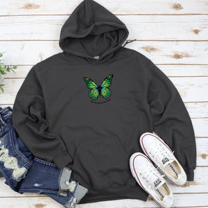 Mental Health Matters Green Butterfuly Sweatshirt T-shirt teelaunch