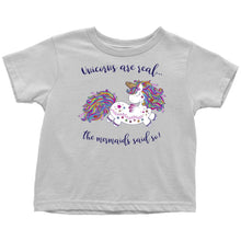 Unicorns Are Real Baby & Kids Tees