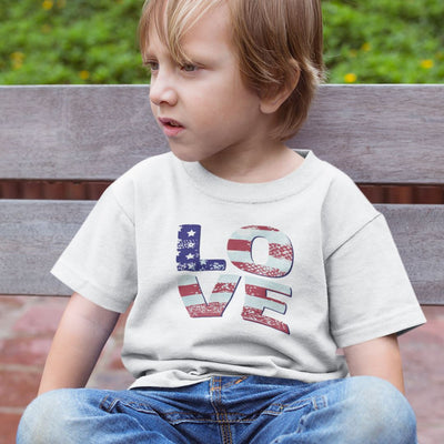 Patriotic Love • Youth T-shirts T-shirt teelaunch