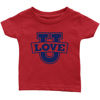 Love U • Babies & Kids Tees T-shirt teelaunch Infant Tee Red 6M