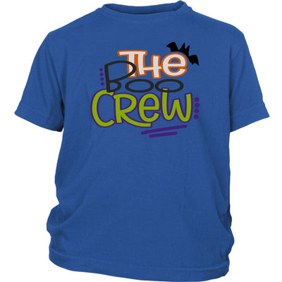 The Boo Crew • Kids & Babies Tops T-shirt teelaunch Youth Tee Royal Blue XS