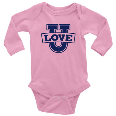 Love U • Babies & Kids Tees T-shirt teelaunch Long Sleeve Onsie Pink NB