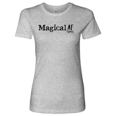 Magical AF • Women's Tees T-shirt teelaunch Cotton Tee Heather Grey S