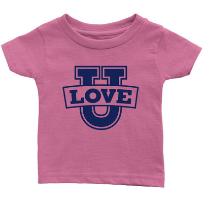 Love U • Babies & Kids Tees T-shirt teelaunch Infant Tee Pink 6M