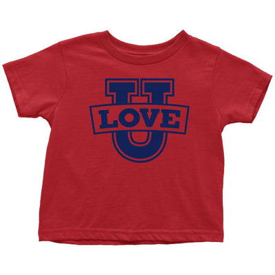 Love U • Babies & Kids Tees T-shirt teelaunch Toddler Tee Red 2T