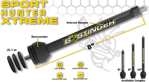 Bee Stinger Sport Hunter Xtreme Stabilizers