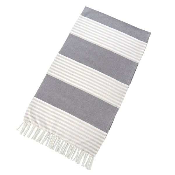 Turkish Towel - Grey/Taupe