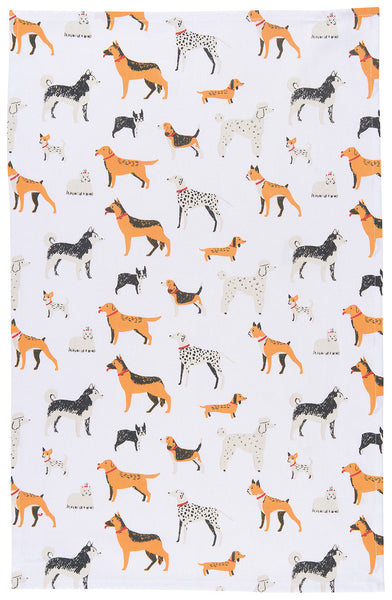Tea Towel - Dog Days