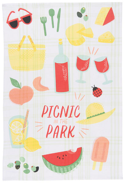 Tea Towel - Picnic in the Park