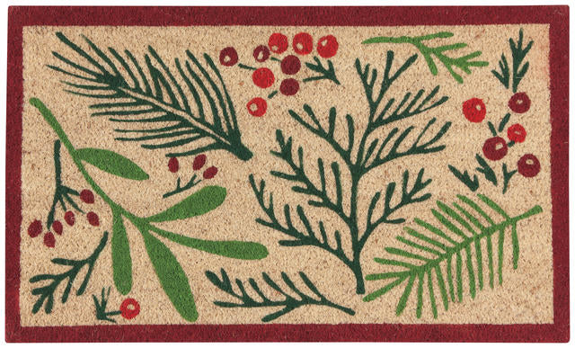Bough and Berry Doormat