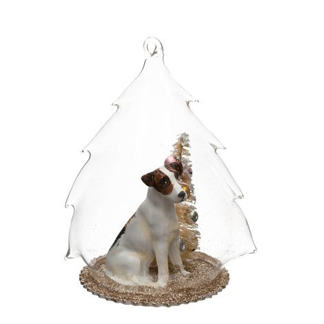 Dome with Dog and Tree