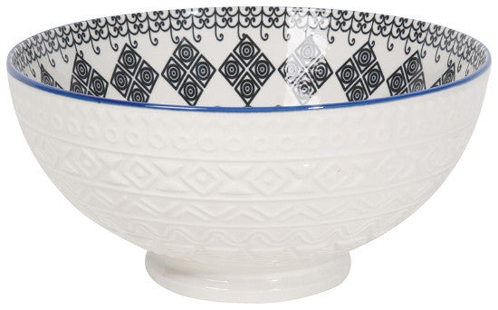 Casablanca Embossed Serving Bowl 8""
