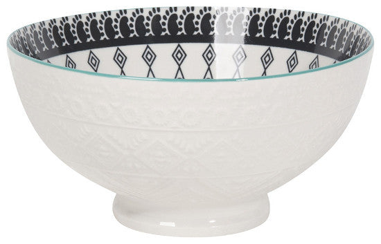 Casablanca Embossed Cereal Bowl 6""