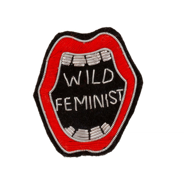 Wild Feminist Patch Pin