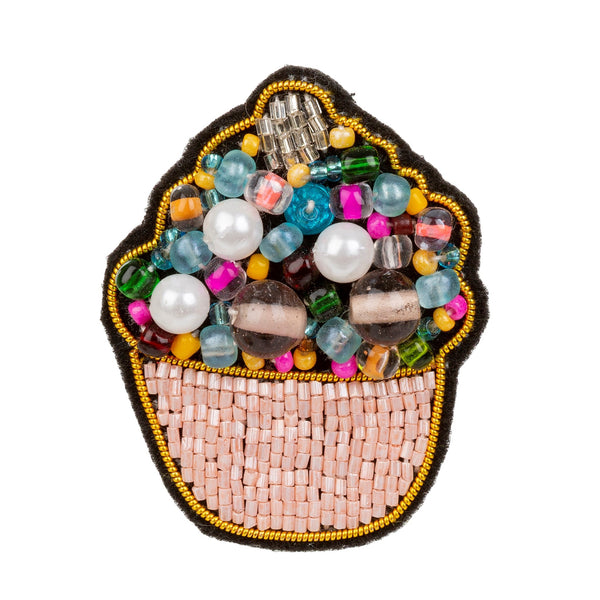 Cupcake Patch Pin