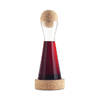 Cork Ball Decanter and Coaster