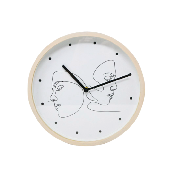 Faces Clock
